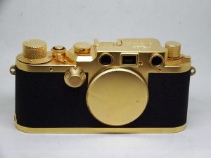 Фотоаппарат Leica IIIc Gold body (Б/У)