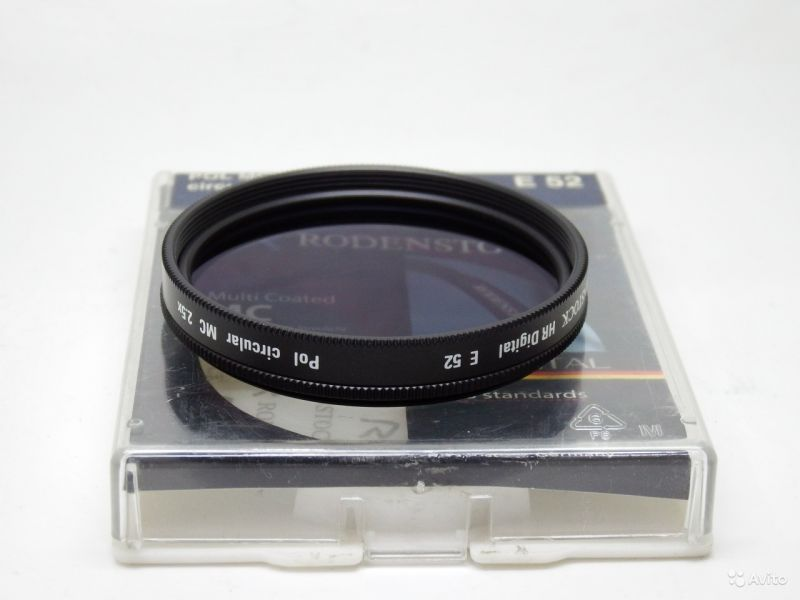 Cветофильтр  Rodenstock Digital HR C-PL MC 52mm